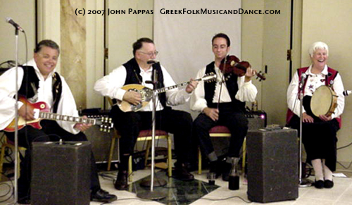 Greek Instrument Groupings ~ Greek Folk Music and Dance